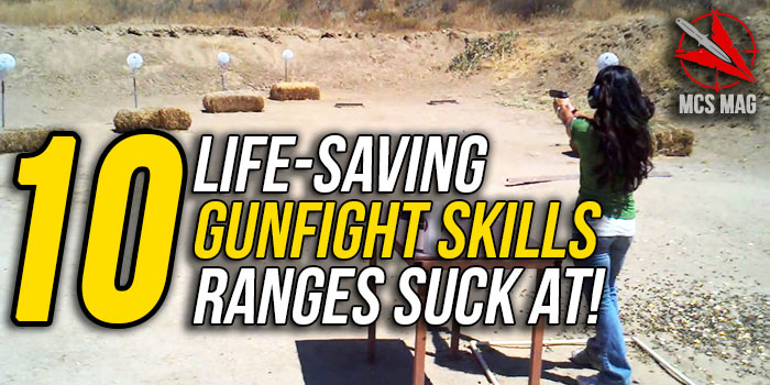 Gun Range Training Drills