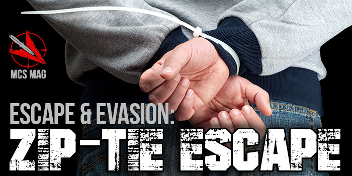 Escape And Evasion Zip Tie Escape Technique