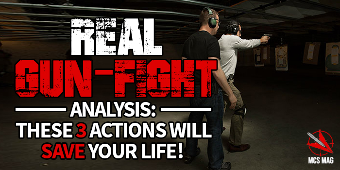 Real Gunfight Analysis: CQC Gunfight Criminal Ambush Survival Tips for Concealed Carry