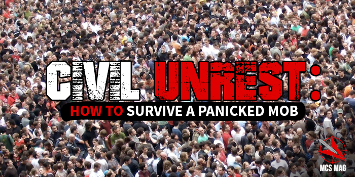 Civil Unrest: Survive A Panicked Mob In A Riot