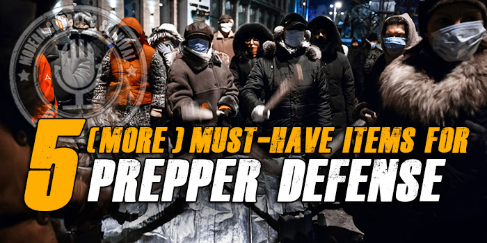 Prepper Looter Defense Gear