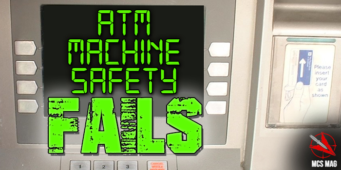 ATM Safety Fails: Tips For Real Street Fights