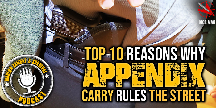 Appendix Carry CCW Tactical Pistol - Top 10 Reasons