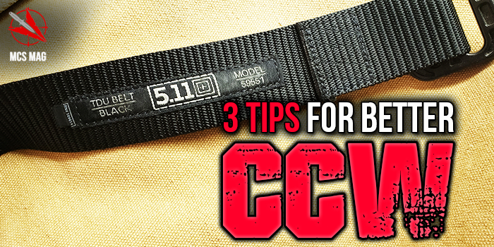 ccw concealed carry pistol tips
