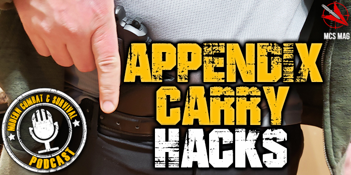 Appendix Carry CCW Tactical Pistol Hacks: Tips, Tricks, & Tactics