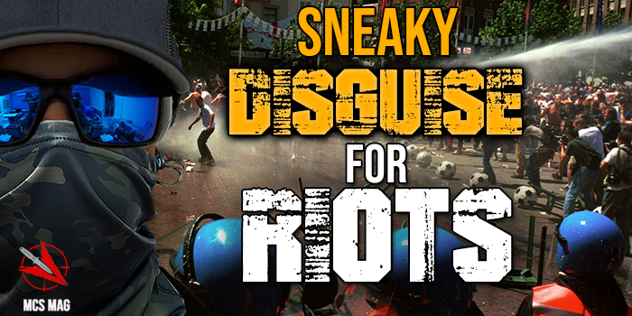 Riot Civil Unrest Escape And Evasion: Sneaky Disguise For Riots