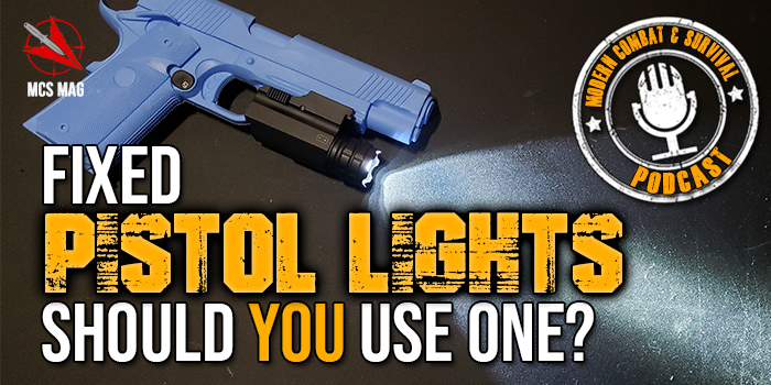 CCW Pistol Fixed Gun Lights: Yes Or No?
