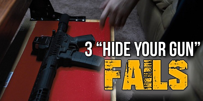 3 Hide Your Gun FAILS